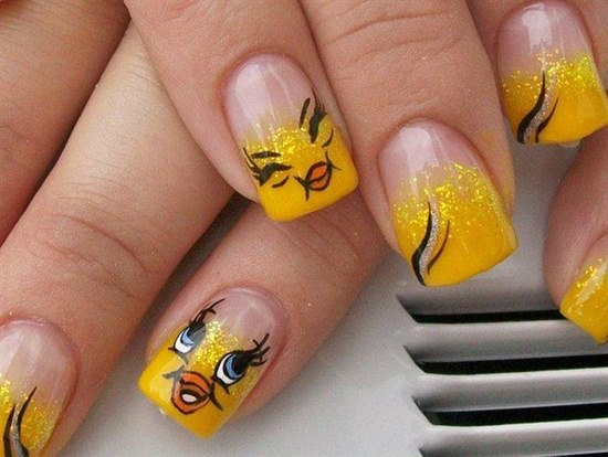 Angelic Nail Design