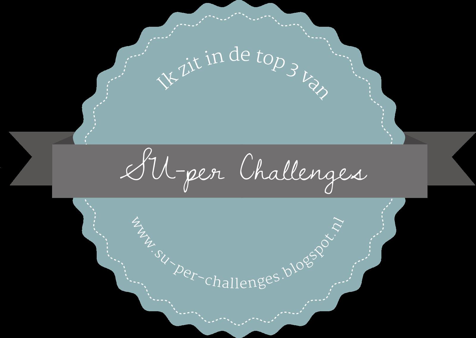 Top 3 bei Su-per Challengeblog