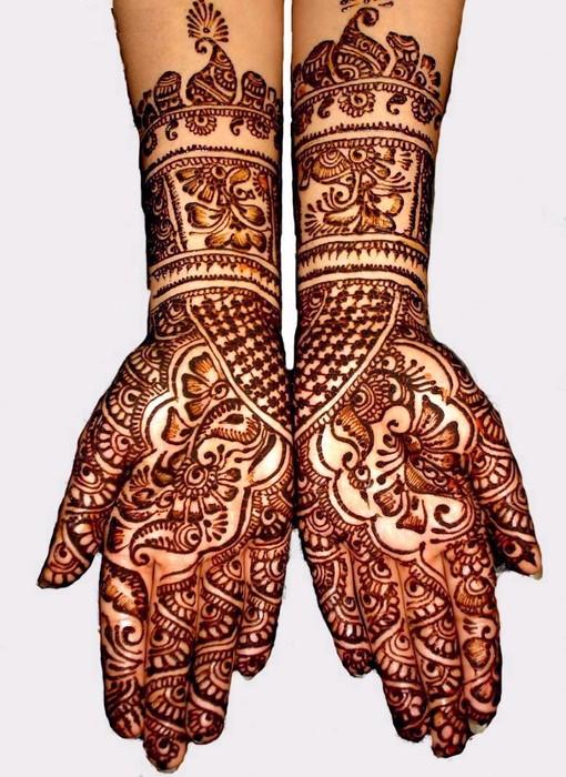 Mehndi style: The Indian Mehndi 2011