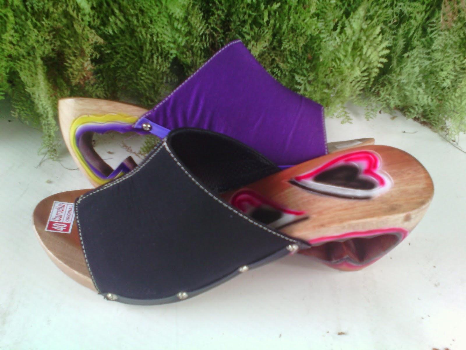 Sepatu Sandal Murah Kelom Geulis Tasikmalaya