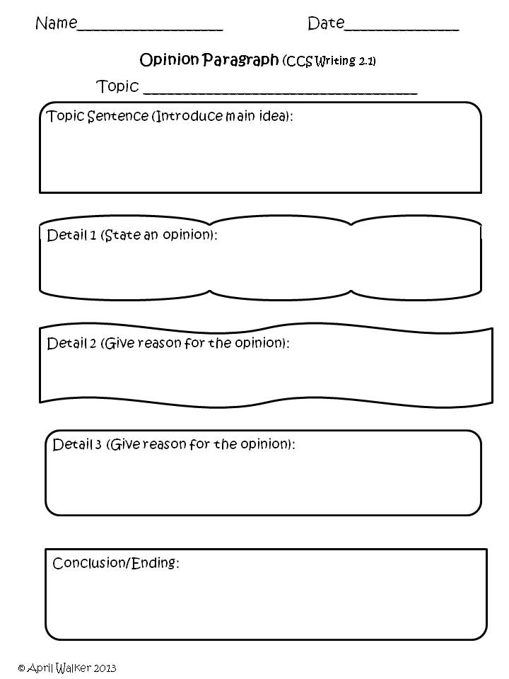 a five paragraph essay graphic organizer