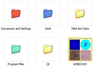 Ganti warna folder pada komputer