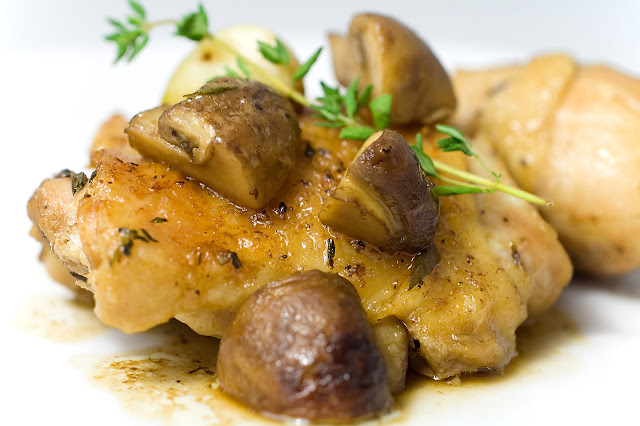 Baked Chicken with Mushrooms Recipe