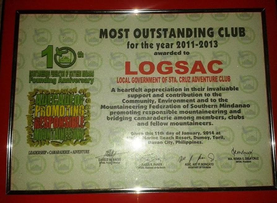 Congrats LOGSAC