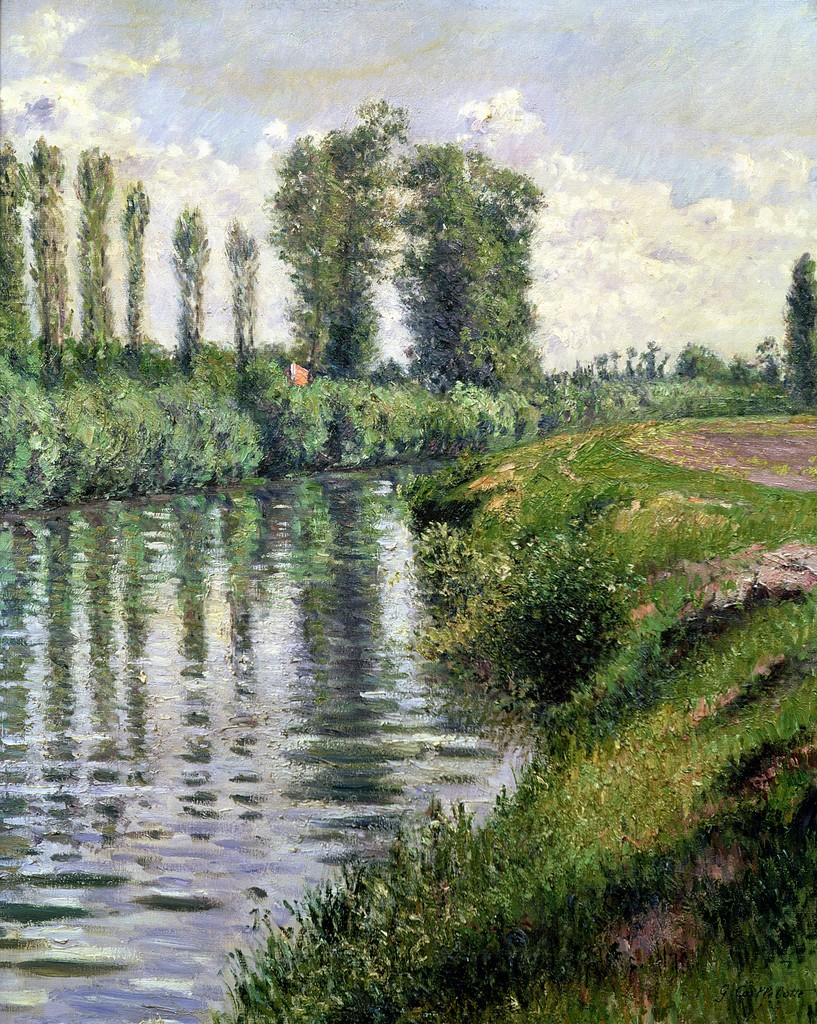 Gustave caillebotte a young knight travel - Petit jardin contemporain argenteuil ...