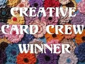 Winner Creative Card Crew Challenge