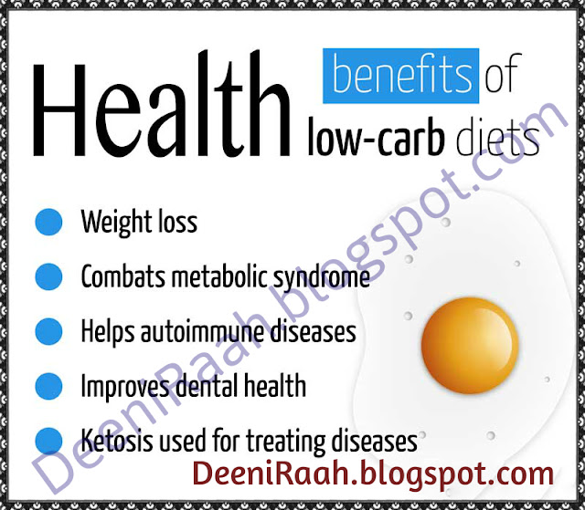 Health Benefits of Low-Carb Diets