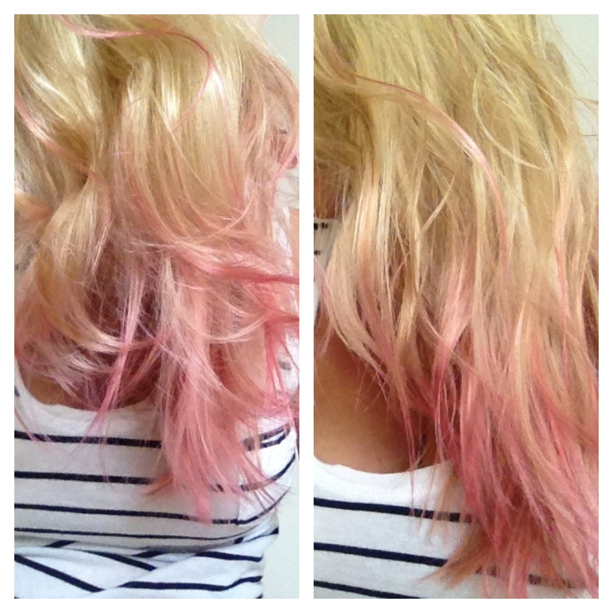 Follow The Little Pink Road Pink Hair