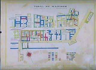 Plano Tossal de Manises años 30