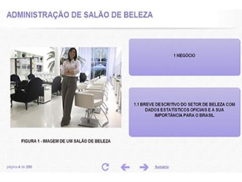 CURSO ONLINE DE ADMINISTRAÇÃO DE SALÃO DE BELEZA