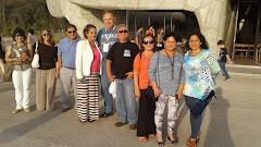 Visita a templo Bahai en santiago