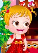 Малышка и Дед Мороз - Онлайн игра для девочек