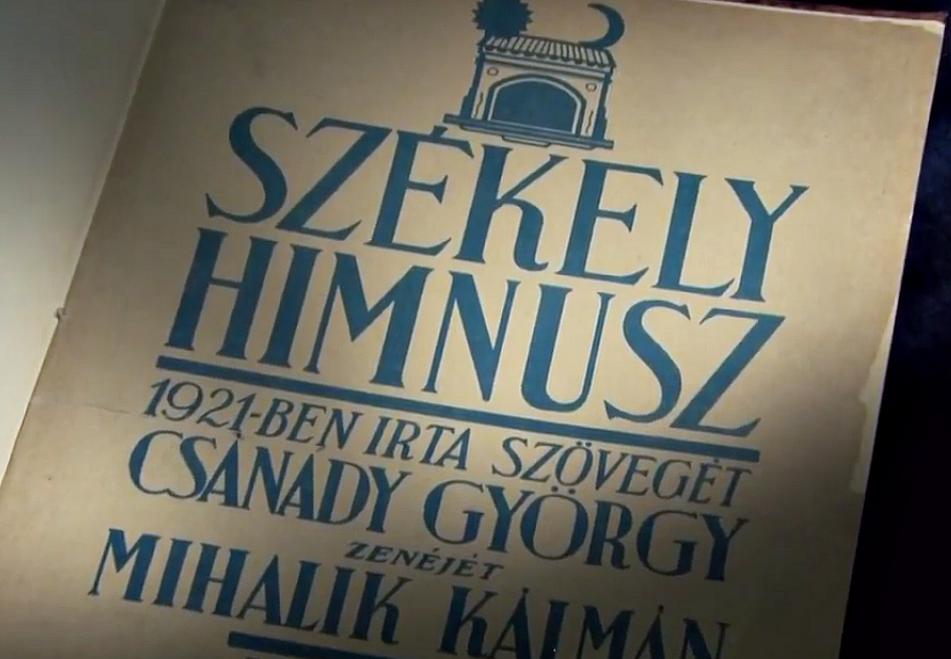 Csanády György, Székely himnusz, Mihalik Károly, évforduló, Székelyföld, magyarság,