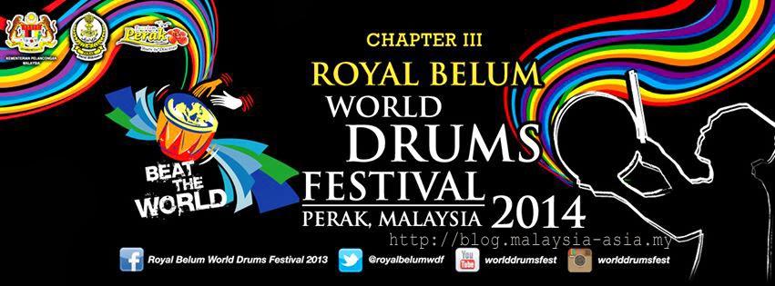 Royal Belum World Drums Festival 2014