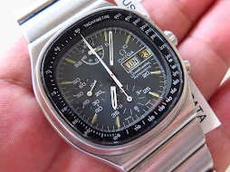 OMEGA SPEEDMASTER TV DIAL CHRONOGRAPH MARK 5 - CHRONOGRAPH AND 24 HOURS - AUTOMATIC 1045