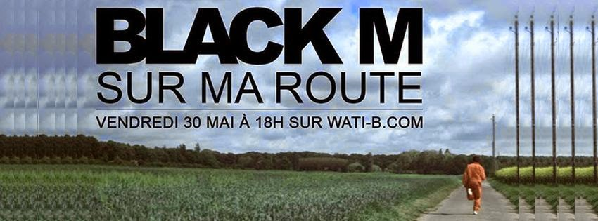 Couverture facebook Black M sur ma route