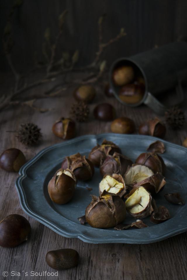 Schokoladen-Maronen-Tarte
