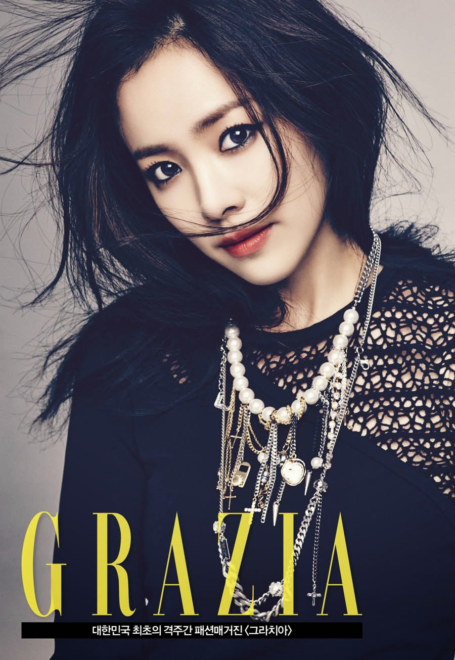 Han Ji Min - Grazia Magazine January Issue 2014