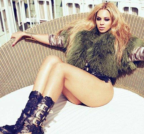 Beyonce poses for Jones magazine