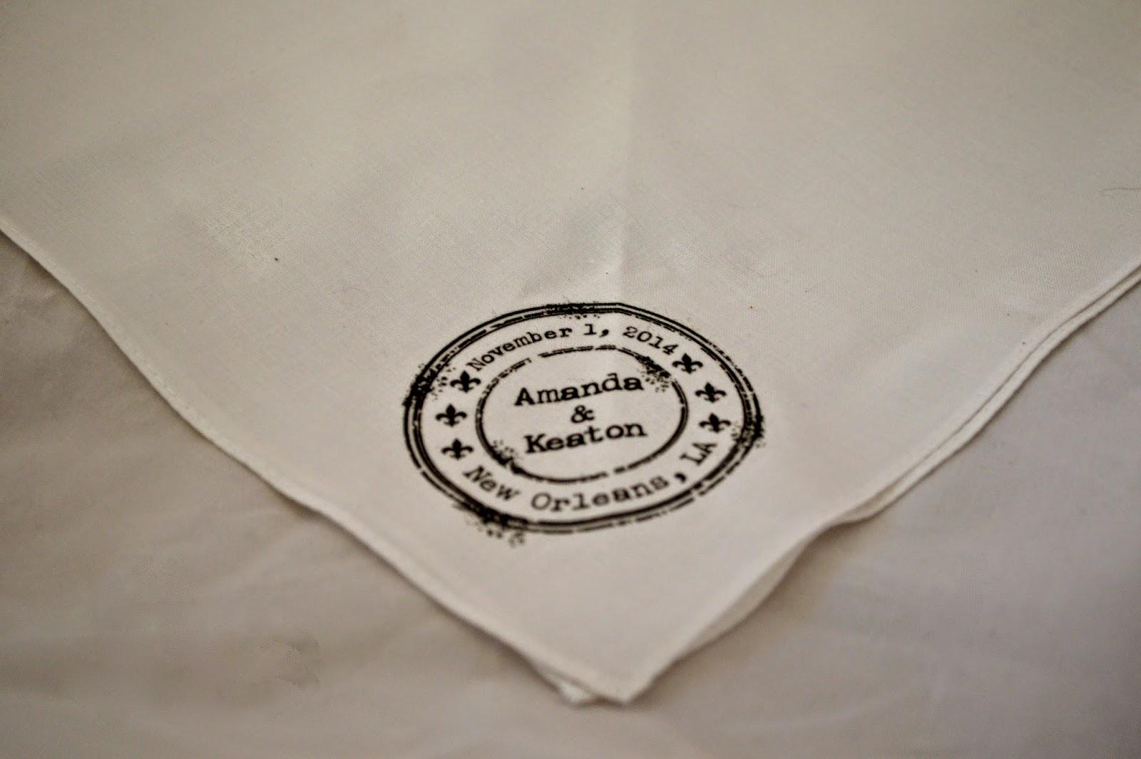Vintage Handkerchief Wedding Invitation Diy With Print Second Line Birthday