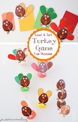 Count and sort turkey Game