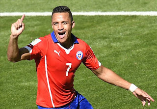 Striker Chile - Alexis Sanchez