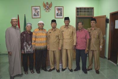 Kakankemenag Tanjungbalai Terima Kunjungan Silaturrahmi Pengurus MUI Tanjungbalai