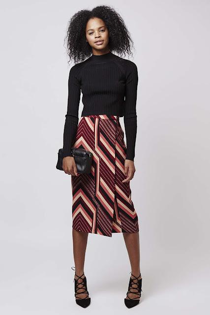 topshop chevron skirt, burgundy chevron skirt,