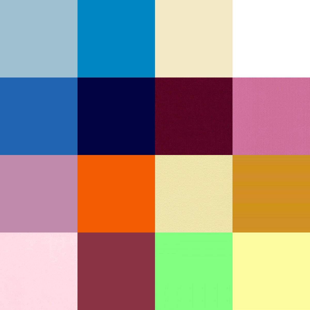 Como combinar el azul klein de esta temporada con algo - Colores que combinan con rosa ...