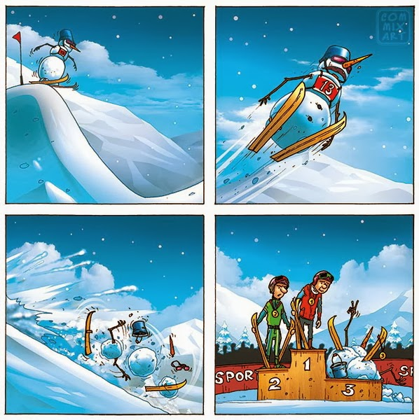 Снеговик чемпион