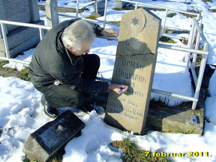 Grobno mesto Osmana Lose Cicvarić