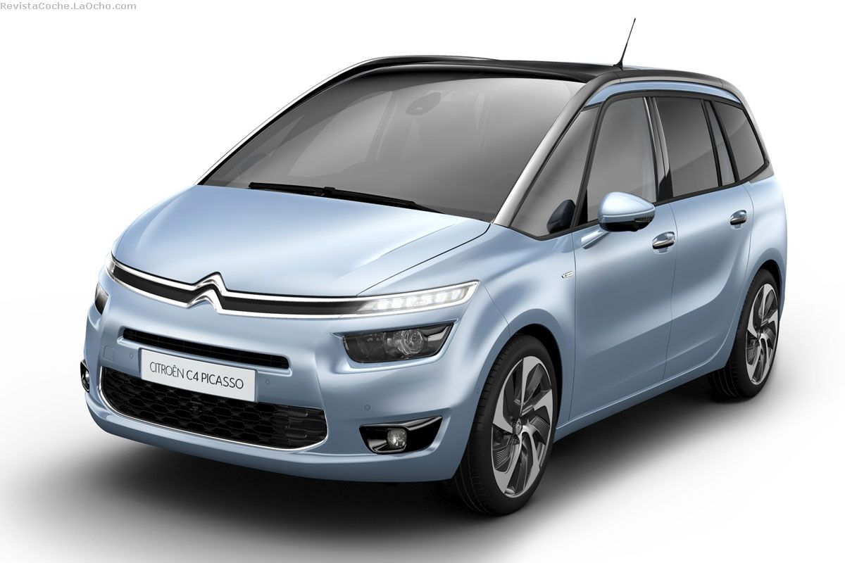 revista coche nuevo citroen c4 grand picasso 2014. Black Bedroom Furniture Sets. Home Design Ideas