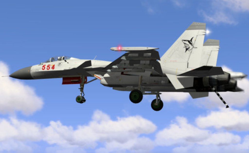 Aircraft Carrier Fighter Jet Peoples Liberation Army Air Force