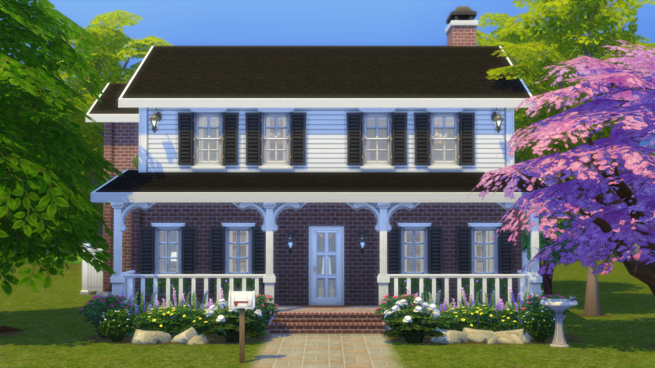 My sims 4 blog renovated legacy house no cc by illwara for Legacy house