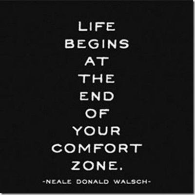 Life Begins The End Your Comfort Zone