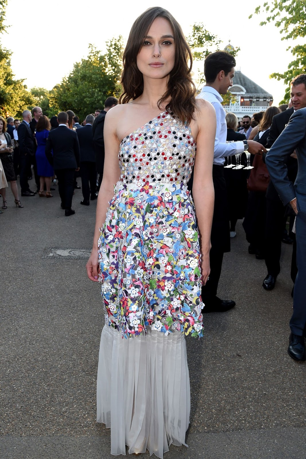 Keira Knightley Serpentine Summer Party in Chanel