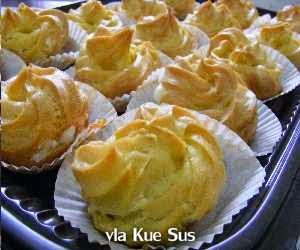 Resep dan Cara Membuat vla Kue Sus