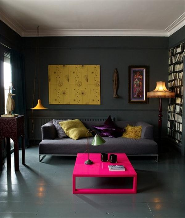 Dark Apartment Living Room apartment decorating ideas | the flat decoration