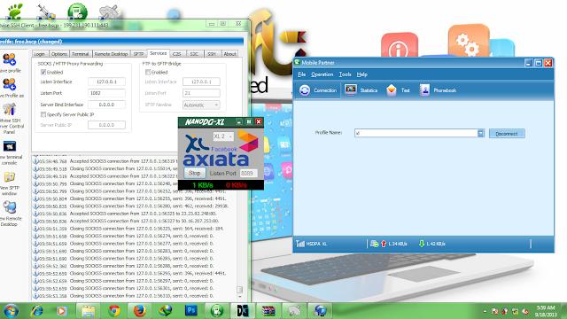download inject SSH XL terbaru september work