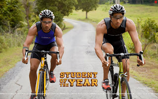 Student Of The Year HD cycling Wallpaper Varun Dhawan and Sidharth Malhotra