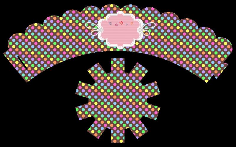 7 Fabulosos Wrapper Cupcakes o Vestidos para tus cupcakes ...