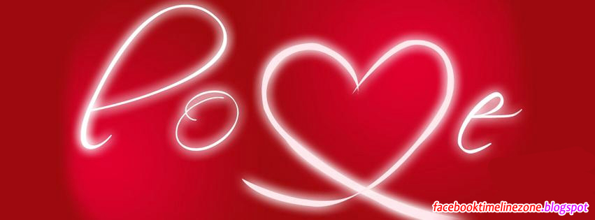 Neon Love Facebook Timeline Cover