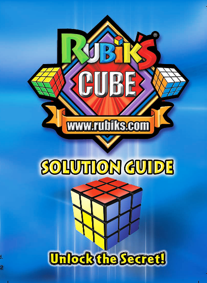 learn how to solve a rubix cube