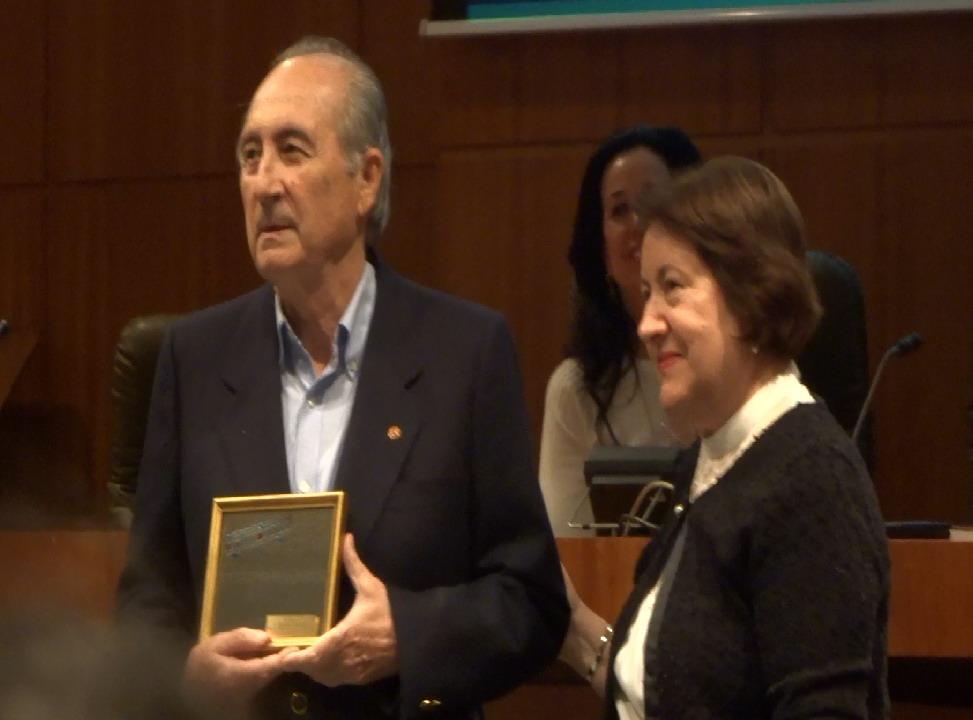 Ramón Palmeral Socio de Honor de Espejo de Alicante