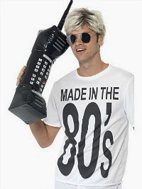 Inflatable 80s Brick Phone