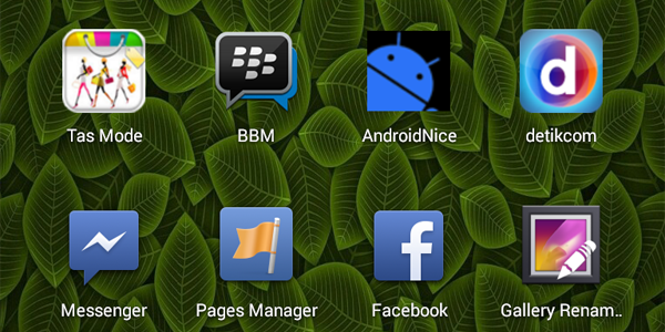 BBM di Android Gingerbread