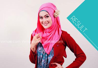 model Jilbab Pashmina terbaru