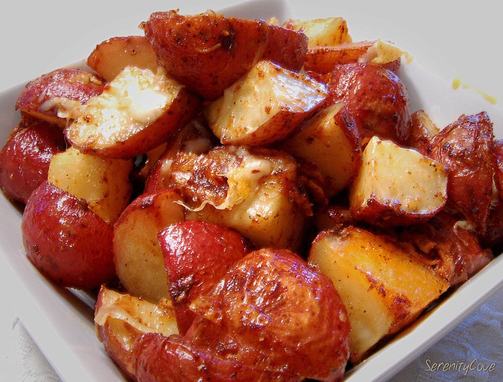 Serenity Cove: Parmesan Roasted Potatoes