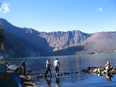 gunung rinjani, peta wisata lombok, tempat wisata di lombok, lokasi wisata, wisata lombok