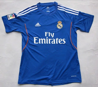 Real Madrid blue shirt for the season 2013-2014